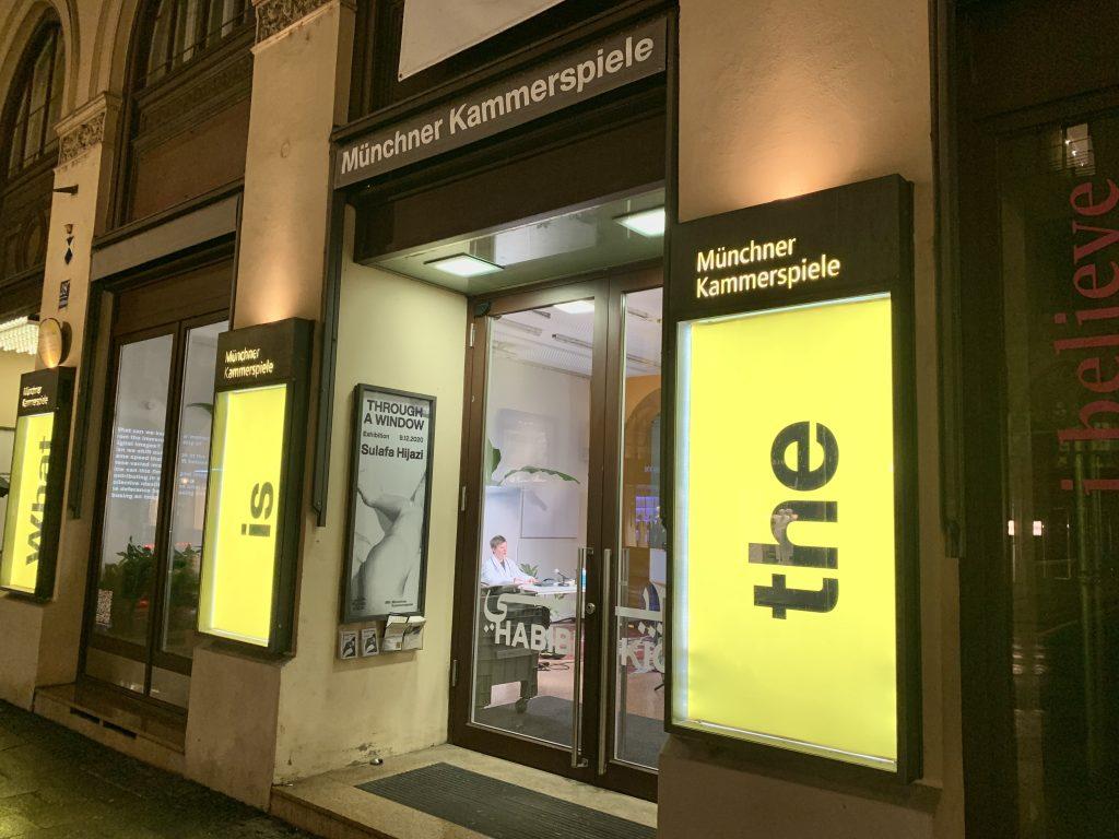 Habibi-Kiosk. Neues Schau-Fenster für die Münchner Kammerspiele